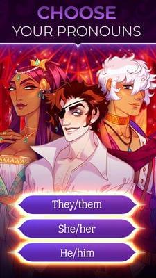 The Arcana A Mystic Romance - Interactive Story1