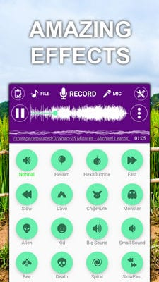 Voice changer sound effects by 9xgeneration1
