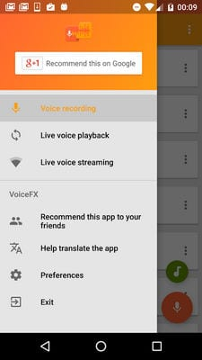 VoiceFX - Voice Changer with voice effects2