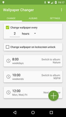 Wallpaper Changer by j4velin2