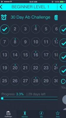 30 Day - Ab Challenge1