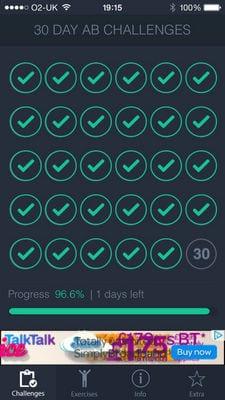 30 Day - Ab Challenge2