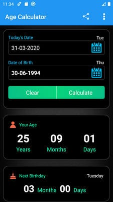 Age Calculator by GeekMindApps1