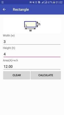 Area Calculator surface area formula2