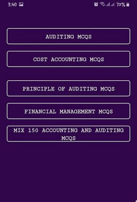 Auditing - Chapter & MCQs2