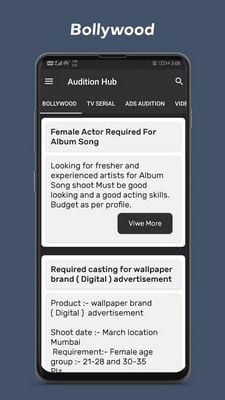 Audition Hub - Bollywood & serial Audition Updates1