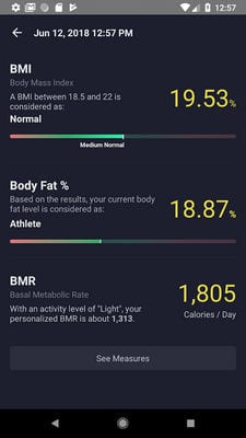 BFitt - Body Fat & BMI Calculator1