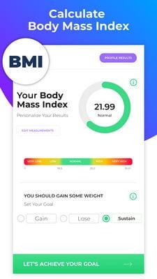 BMI Calculator Body Fat Percentage & Ideal Weight1