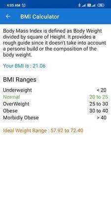 BMI,BMR and Fat % Calculator1