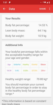 Body Fat Calculator by VoYo1