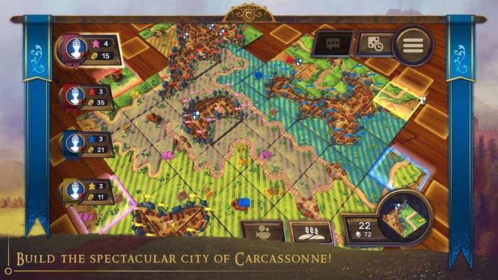 Carcassonne Official Board Game - Tiles & Tactics1