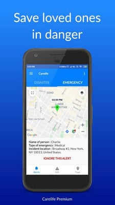 Carelife - Personal Safety App1