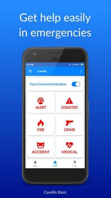 Carelife - Personal Safety App2