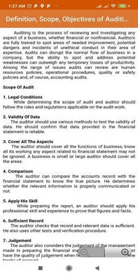Financial Auditing1