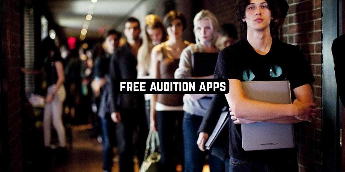 Free Audition Apps