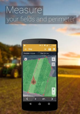 GPS Fields Area Measure1