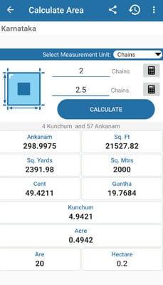 Land Area Calculator And Converter1