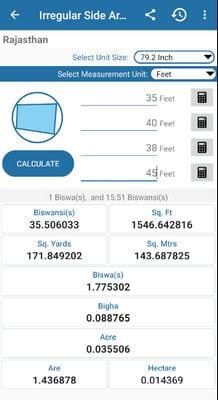 Land Area Calculator And Converter2