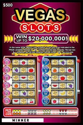 Lotto Scratch - Las Vegas1