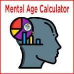 Mental Age Calculator
