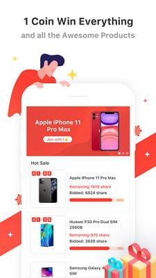SnapBid Bid, Shop, Win1