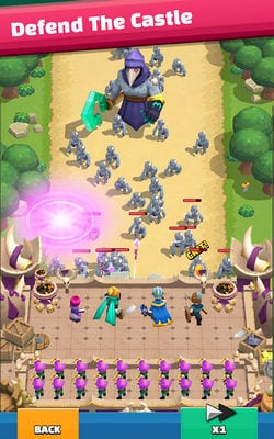 Wild Castle TD Grow Empire in Tower Defense2