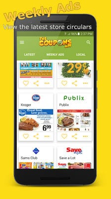 the Coupons App2