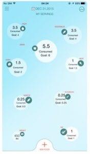 DASH Diet Food Tracker
