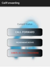 Call Forwarding & scheduled