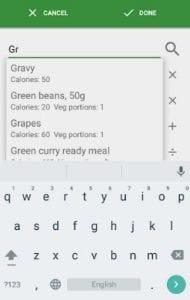 Simple Diet Diary