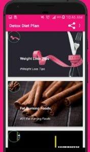 Detox diet plan:Lose fat fast