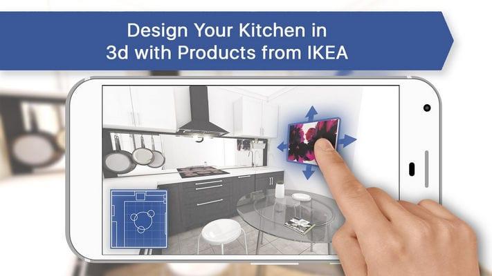 3D Kitchen Design for IKEA Room Interior Planner1