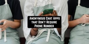 Anonymous Chat Apps that Don't Require Phone Number main pic