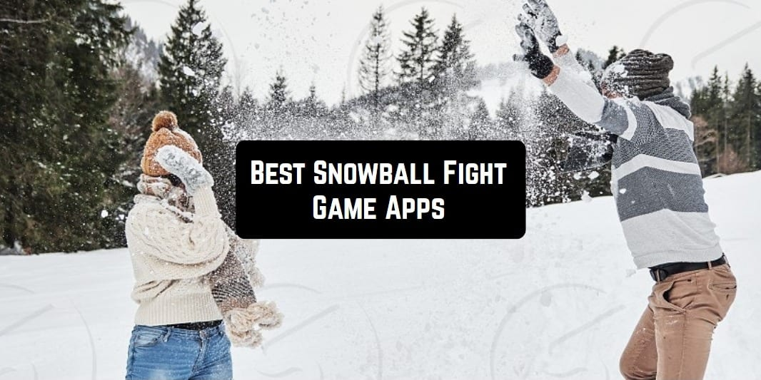 Best Snowball Fight Game Apps main pic