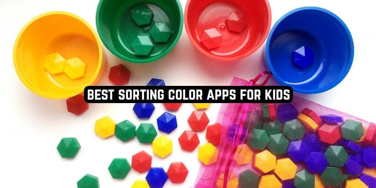 Best Sorting Color Apps for Kids