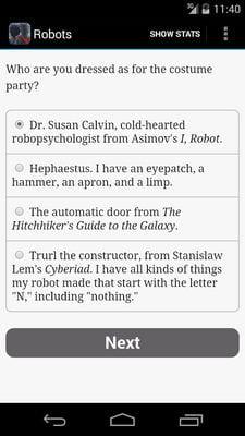 Choice of Robots1