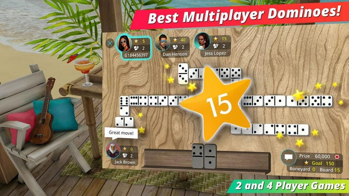 Domino Master! #1 Multiplayer Game by TikGames LLC1