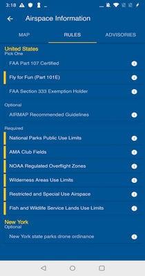 Drone Buddy - UAV Safe Wind, Weather, No Fly Zone2