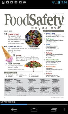 Food Safety Magazine by GTxcel1