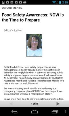 Food Safety Magazine by GTxcel2