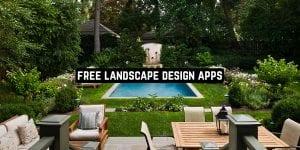 Free Landscape Design Apps