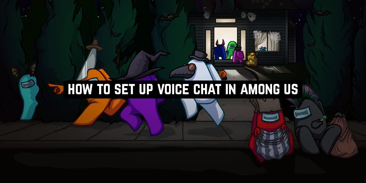 How to set up voice chat in Among Us