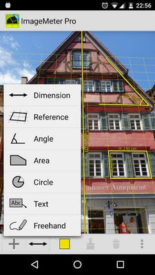 ImageMeter - photo measure by Dirk Farin1