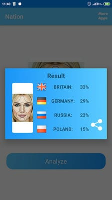 Nationality Detector by Photo Test2