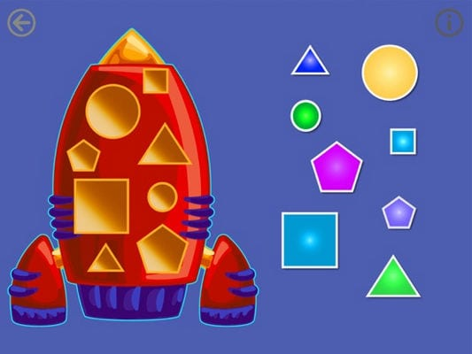 Shapes - Toddlers kids games1