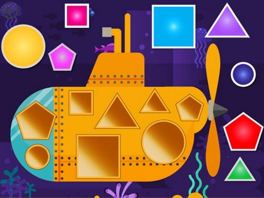 Shapes - Toddlers kids games2