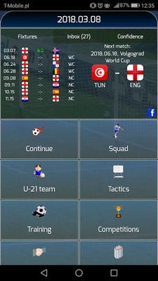 True Football National Manager by MKR Studio2