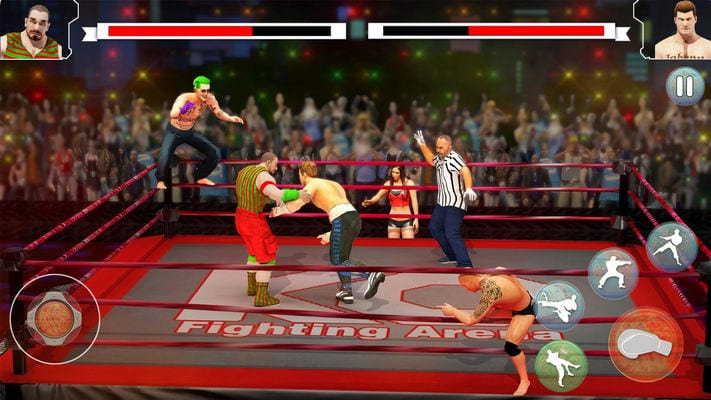 Wrestling Rumble Superstar Extreme Fighting Games1