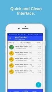AlcoTrack BAC Calculator & Alcohol Tracker2