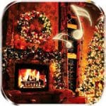 Christmas Fireplace Live Wallpaper by Live Wallpapers HD